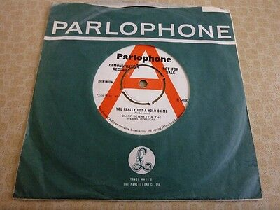 CLIFF BENNETT and the REBEL ROUSERS, RARE 1963 UK PARLOPHONE DEMO 45 SINGLE.