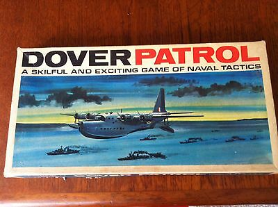 VINTAGE 1970s DOVER PATROL NAVAL TACTICS BOARD GAME COMPLETE - HP Gibson & Sons