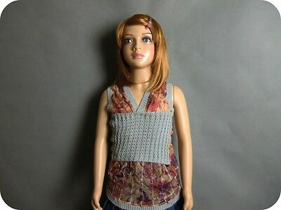 Child Full Body Mannequin Dummy Free Wigs For Shop Display