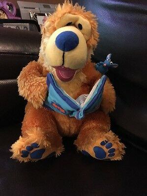 Fisher Price Bear In The Big Blue House Story Telling Interactive Soft Toy 2000