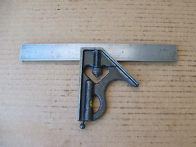 9'' Mohawk Engineers Combination Square Made in USA
