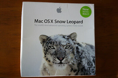 Apple Snow Leopard OS System Disk package