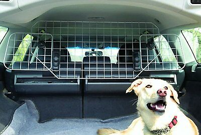 XtremeAuto® Durable Universal Deluxe Heavy Duty Dog Guard Pet Car Barrier Cage