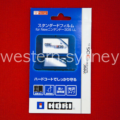 HORI Screen Protector for NEW Nintendo 3DS, NEW Nintendo 3DS XL/LL