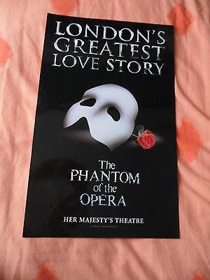 The Phantom Of The Opera - Her Majesty's Theatre London - Glossy