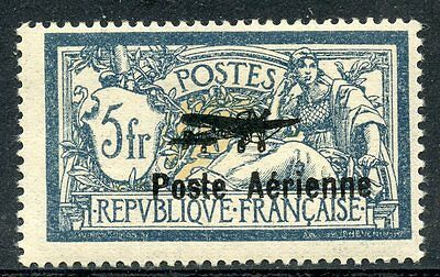 Stamp / Timbre France Neuf Poste Aerienne N° 2 * Merson Surcharge Cote + 250 €