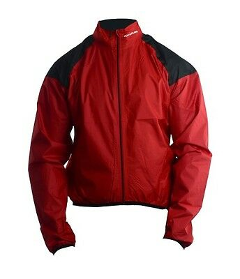 New Altura Slipstream Performance Waterproof Jacket.  Colour Red. Size XL