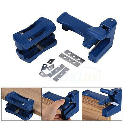 2 Edge Laminate Trimmer Banding Carpenter Trimmer  Woodworking Tool Device TP