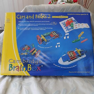 Cambridge Brain Box Cars and Boats 2 electronic kit