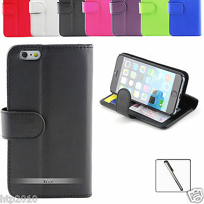 Slim Credit Wallet Leather Case Cover For Apple iPhone 6 / 6 Plus + Stylus AU