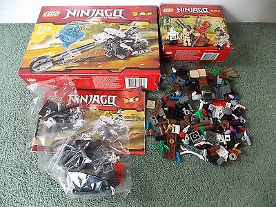 lego Ninjago 2259 & 2258 (NOT COMPLETE SELLING AS SPARE BRICKS)