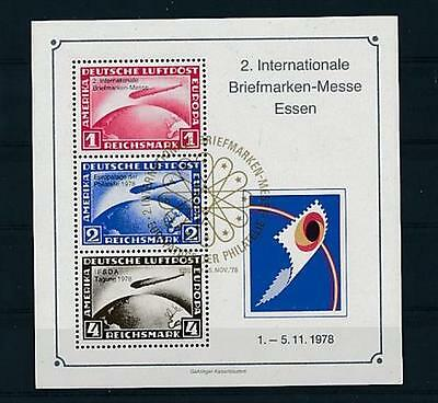 D115600 Stamp Expo Essen Zeppelins S/S MNH Germany Cinderella Issue
