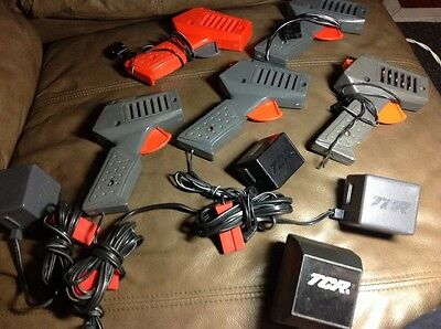 Ideal Vintage Controllers Power Packs TCR Slotless HO Scale not tested