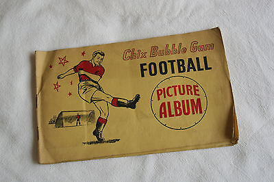 Chix Bubble Gum Football Picture Album Of Great Players of Yesteryear