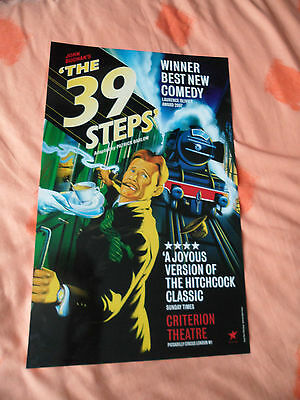 The 39 Steps - Criterion Theatre London - Glossy Thick Board