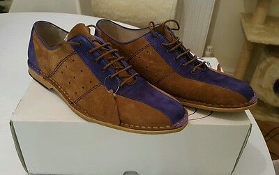 Delicious Junction Watts Mod Jam weller /  Suede/Stone Purple/shoes/bowling