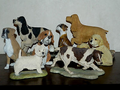 Dog Ornament Gift Boxer Springer Spaniel West Highland Terrier Puppies