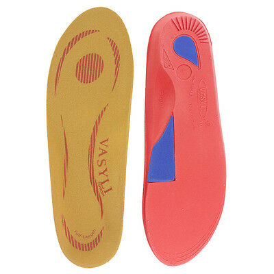 Vasyli Orthothic Red High density Full length Heat Mouldable lowest price new