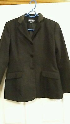 Childs Dublin Show Jacket, Black Size 30