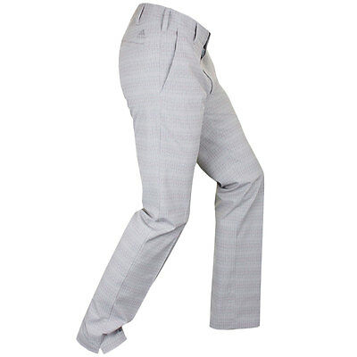 40% OFF RRP Adidas Golf Mens Ultimate Dot Plaid Pant Water Resistant Trousers