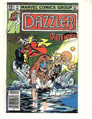 Dazzler  #15   about   8.5  UnRestored, Nice (5)
