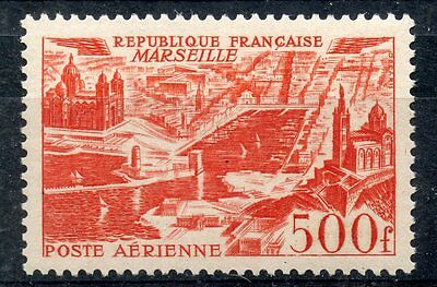 Stamp / Timbre France Neuf Poste Aerienne N° 27 ** Marseille Cote 70 €
