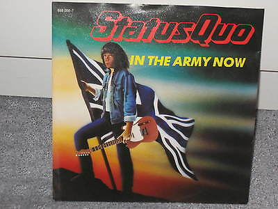"""Single Status Quo """"In the Army now/Heartburn"""""""