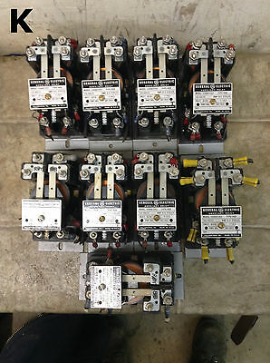 General Electric 12HGA11J52 Auxiliary Relay HGA 125V- Lot of 9