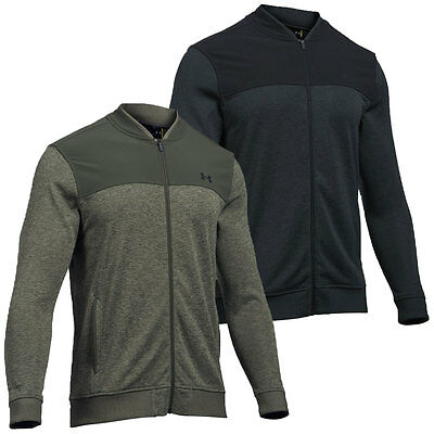 Under Armour 2017 Mens Storm SweaterFleece Jacket Golf Water Repellent Full Zip