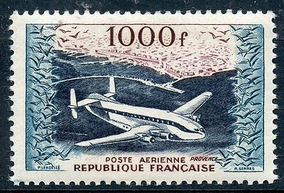 Stamp / Timbre France Neuf Poste Aerienne N° 33 ** Breguet Provence Cote 135 €