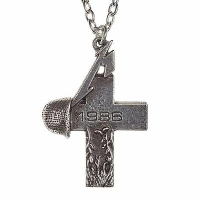 Alchemy Rocks Metallica Master Of Puppets  Pendant Necklace Pewter Official