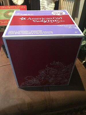 Beau American Girl Doll Storage Box Large Salon Chair Empty Box Only