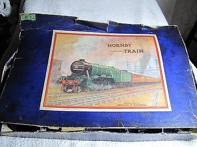 Hornby Tin Plate Train Set Boxed