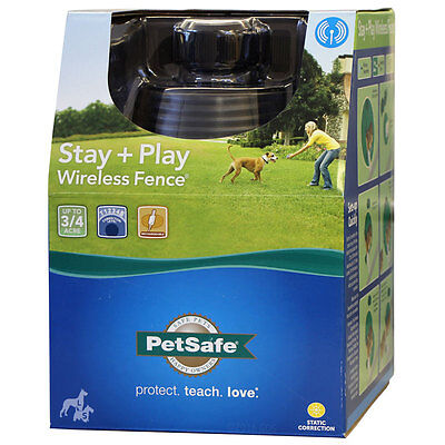 PetSafe Stay + Play Wireless Dog Fence PIF00-12917 Stay & Play Fence Full System