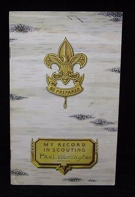 Boy Scout-1940 Kansas City Scouting Record-in Color-from The Palace-16 pages