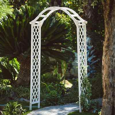 Garden Arbor Gate Arch Entryway Lawn Outdoor Patio Wedding