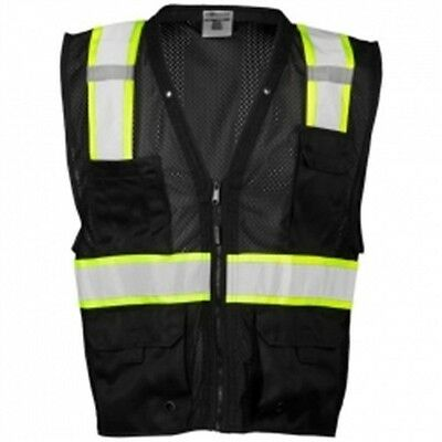 ML Kishigo B100-S-M Enhanced Visibility Multi Pocket Mesh Vest Lm Small-Medium