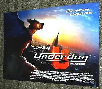 `underdog` New Uk Promo Mini-Poster