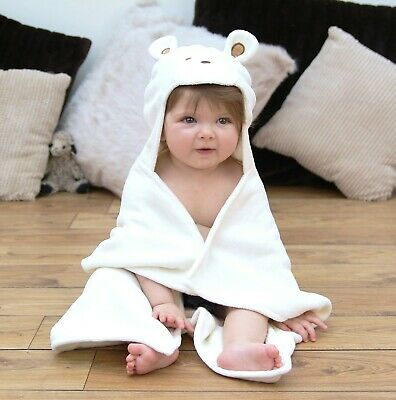 Baby Bath Towel - Mouse