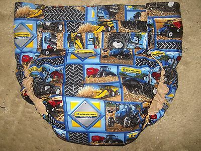 Dependeco All In One cloth adult baby diaper S/M/L/XL  (new holland tractors)