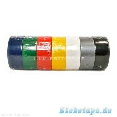 Waterproof Tape with Fabric lining 50m in different Colours