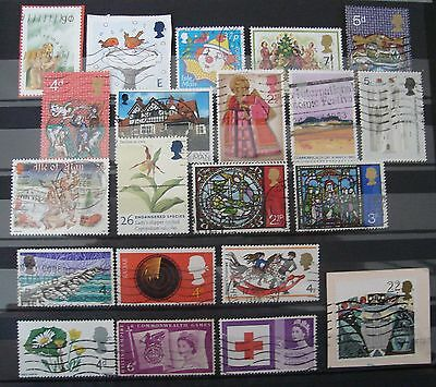 Lot Timbres Royaume uni