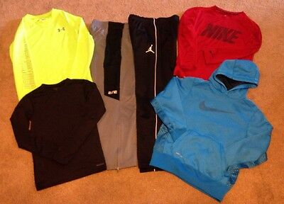 Youth Boys Athletic/Sports Clothing lot Nike/Under Armour/Reebok