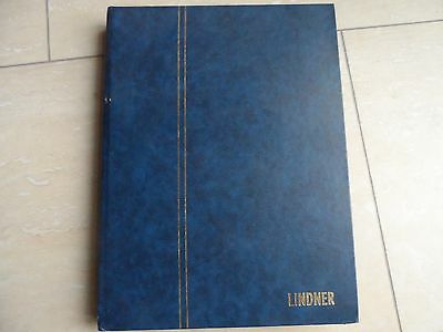 GB 100's stanps in large stock book