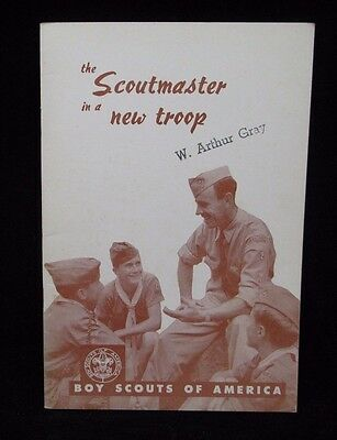 Boy Scout-34 page The Scoutmaster in a New Troop Guide February 1957