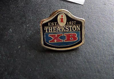 Theakstons Very Collectable Pin Badge Ex Condition