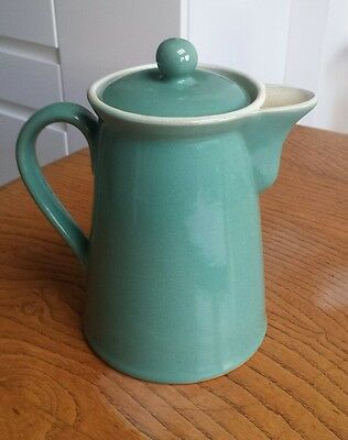 Vintage Denby manor green coffee pot