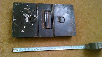 Vintage Antique Tin Box with 3 compartments.