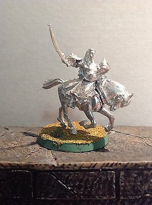 Lord Of The Rings Arwen And Frodo On Horseback Mounted Metal Figure