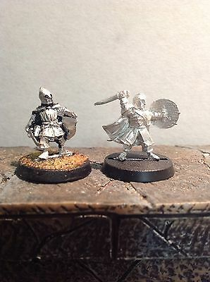Lord Of The Rings Merry And Pippin In Armour 2 Metal Figures Warhammer